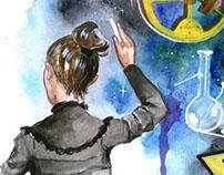 Concurso de mural cientifico 3er lugar