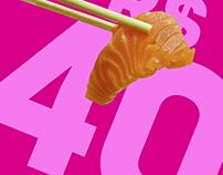 Sushi Rão Promoção 28 por 40