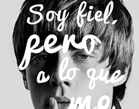 Pisco Capel Campaña Quiereme Tal Como Soy (Propuesta)