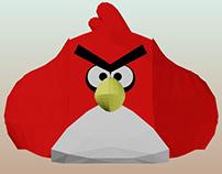 Patrones de puff Angry Bird