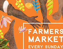 Flyer for a market