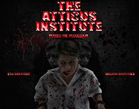 Poster Pelicula Atticus Institute Montaje
