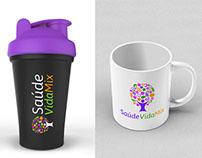 SaúdeVidaMix Logo/Branding