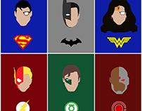 Vetor | Poster Liga da Justiça
