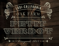Petit Verdot - Wine label