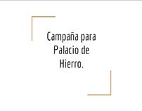 Propuesta para El Palacio de Hierro.