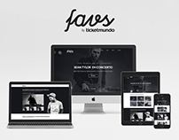 Favs - Branding + Website
