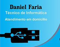 Cartão Visita - Técnico de Informática