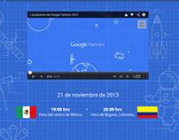 Google Partners Launch Site