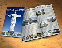 Folder Turístico - Rio de Janeiro