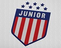 Atlético Junior. Rebrand Concept (Personal)