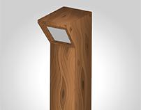 Render 2D - Luminária