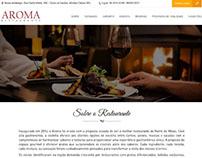 Website Aroma Restaurante
