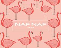 NOTEBOOK FLAMINGOS  / NAF NAF