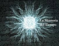 Arte de tapa y booklet/ La Memoria del tiempo