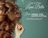Banner's Desenvolvidas para Salão de Beleza Luna Bella.