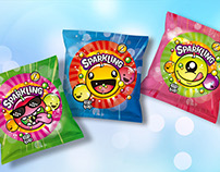 Sparkling - Packaging & Logo