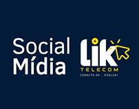 Social Mídia - LIK Telecom