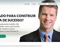 Landing page para os cursos da Ei Você
