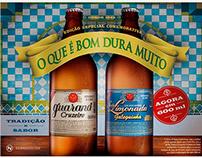 Poster Adesivo Comemorativo para o Guaraná Cruzeiro