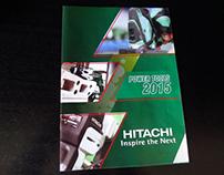 Hitachi Power Tools Brochure Design