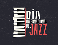 Día Internacional del Jazz Artwork design