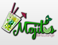 Identidad Visual: Mojitos - Bar&Lounge