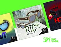 BANNERS & POSTS / spy eyewear