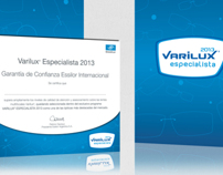 Materiales para programa Varilux Especialista 2013
