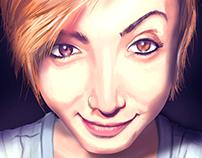 Ally Portrait