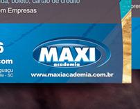 Anúncio MAXI Academia