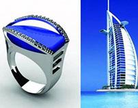 Linhas de Joias inspiradas na arquitetura de Dubai