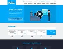Diseño página Web ContaPyme
