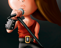 Rock cartoons / Caricaturas de rock