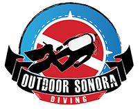 Logotipo para escuela de buceo OUTDOOR SONORA DIVING