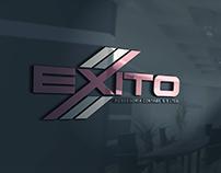 Logotipo criada para Exito