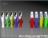 Parquimeter design for a company.
