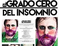 El grado cero del insomnio- Poster y folletos