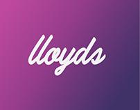 Ecommerce - logo - web branding- Lloyd's
