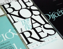 Typographic Pieces
