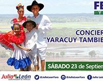 Promocional Concierto Llanero