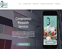 Diseño de Tienda Virtual On line. Betel Suministros.