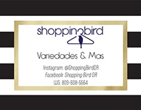 Banner and logo for clothing store