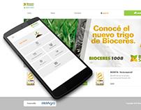 Bioceres - PHP, Laravel & AngularJS