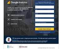 Landing Page do Google Analytics da Agência Ótima Ideia