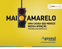 Agrosul - Campanha Maio Amarelo
