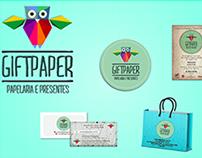 Identidade Visual Gift Paper