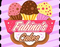 Logo Fabina's Cakes
