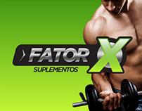 Logo Fator X Suplementos