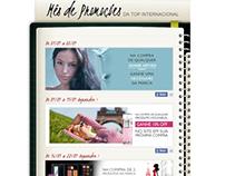 Landing Page Mês de promoções